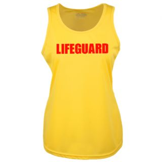 LADIES LIFEGUARD YELLOW COOLTEX VEST